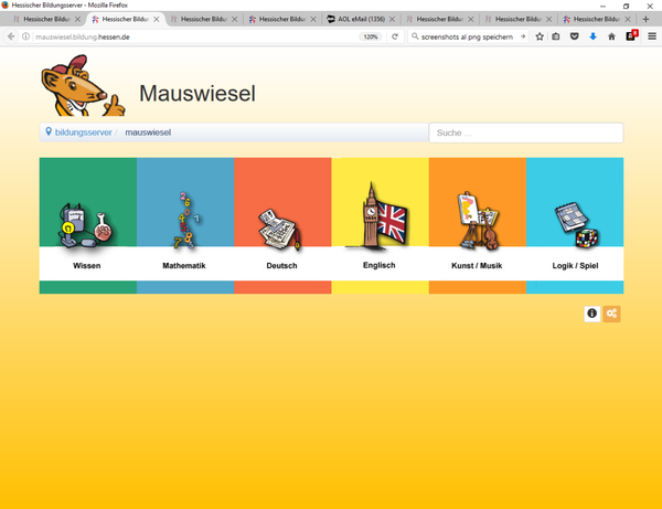 Startseite Mauswiesel