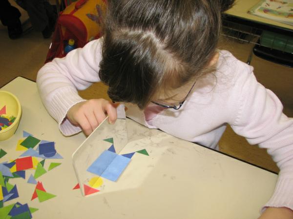 Geometrie Schülerin